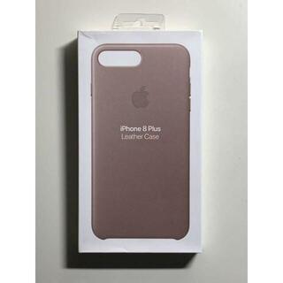 Apple - 【新品】純正 iPhone 7 / 8 Plus レザーケース・トープQa