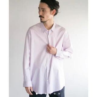 コモリ(COMOLI)のSemoh ストライプシャツ サイズ1(シャツ)