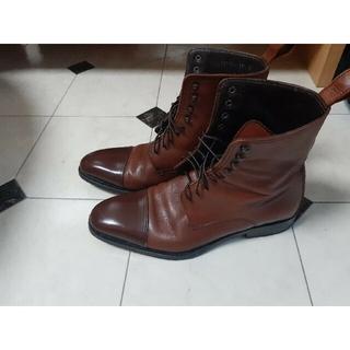 グッチ(Gucci)のGUCCIのブーツ 39 1/2  ブラウン(ブーツ)