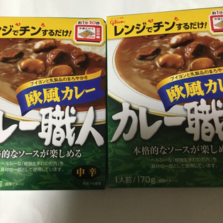 グリコ(グリコ)のカレー職人 欧風カレー×2(レトルト食品)