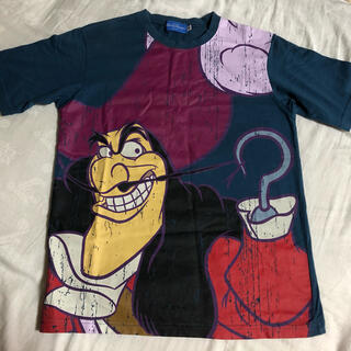 Disney - ディズニーヴィランズ フック船長 Tシャツ