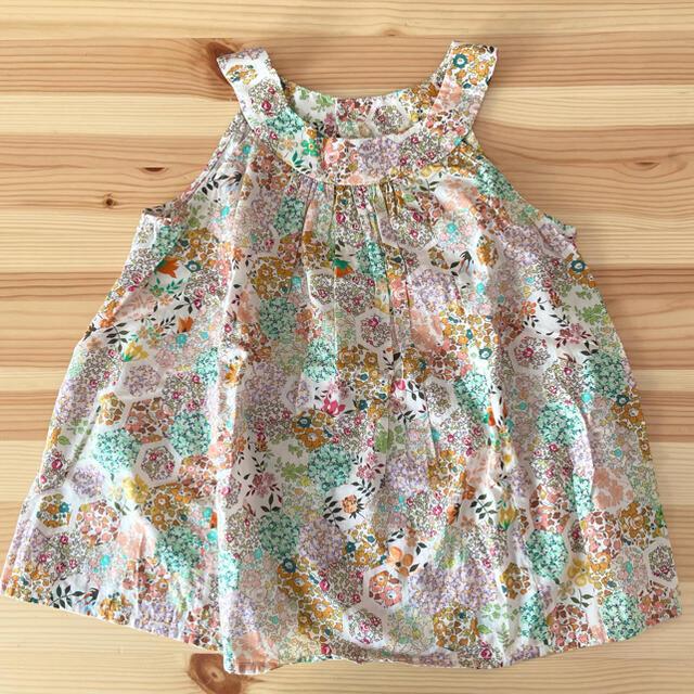 Bonpoint(ボンポワン)のBonpoint  ブラウス  6A キッズ/ベビー/マタニティのキッズ服女の子用(90cm~)(ブラウス)の商品写真