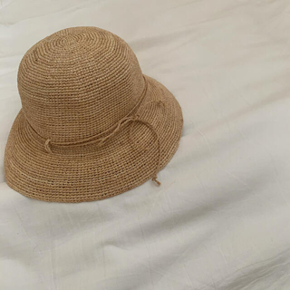 ムジルシリョウヒン(MUJI (無印良品))のラフィア キャペリン(麦わら帽子/ストローハット)
