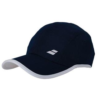 バボラ(Babolat)のバボラ テニスキャップ 紺 55cm 定価4070円(ウェア)