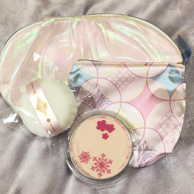 SHISEIDO (資生堂)(シセイドウ)のスノービューティー 2020  レフィル パフ ポーチ コスメ/美容のベースメイク/化粧品(フェイスパウダー)の商品写真