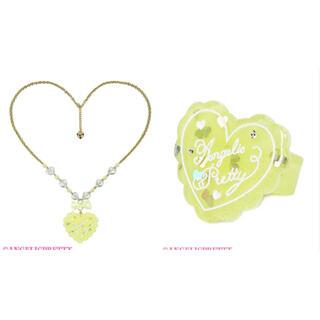Angelic Pretty - topping heart アクセサリーset
