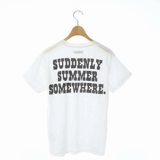 MADISONBLUE - マディソンブルー Tシャツ カットソー 半袖 バックプリント 00 白 黒