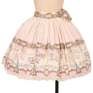 Angelic Pretty - Day Dream Carnival スカート ロゼッタ付 デイドリ