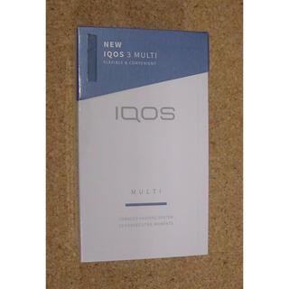 アイコス(IQOS)の新品未開封 IQOS マルチ ブルー(タバコグッズ)