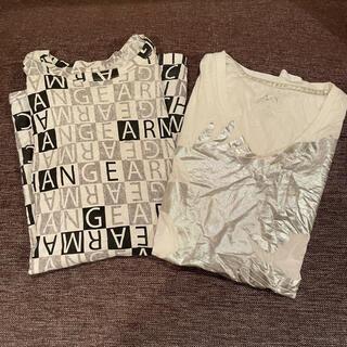 アルマーニエクスチェンジ(ARMANI EXCHANGE)のAIX アルマーニエクスチェンジ Sサイズ Tシャツセット(Tシャツ/カットソー(半袖/袖なし))