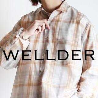 ワンエルディーケーセレクト(1LDK SELECT)のWELLDER   Standard Shirt 定価3.2万(シャツ)