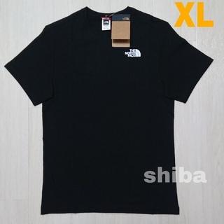 THE NORTH FACE - ノースフェイス tシャツ 黒 simple dome t-shirt  海外XL
