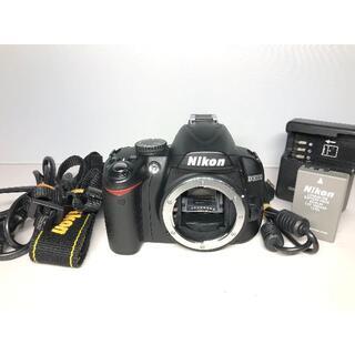 ニコン(Nikon)の僅か4872ショット ニコン D3000 ボディ(デジタル一眼)