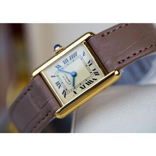 Cartier - 美品 カルティエ マスト タンク アイボリー ローマン SM Cartier