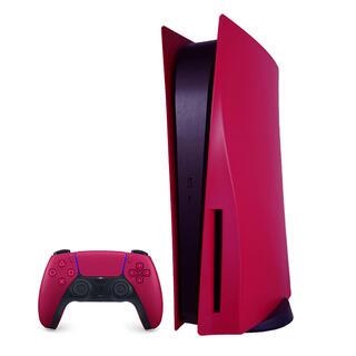 PS5 カバー コズミック レッド(通常版)交換用パネル 本体保護 防塵 傷防止(その他)