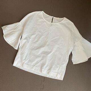 ボールジィ(Ballsey)のTOMORROWLAND BALLSEY ボールジープルオーバー ホワイト白(カットソー(半袖/袖なし))