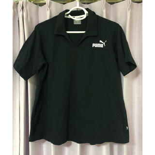 プーマ(PUMA)のPUMA ブラック ポロシャツ(ポロシャツ)