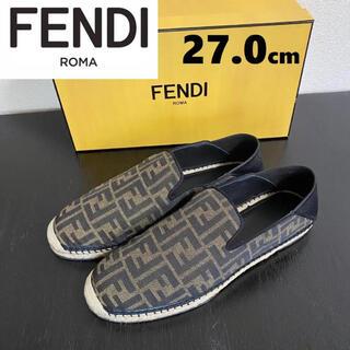 フェンディ(FENDI)の21SS【新品】FENDI フェンディ FFロゴ エスパドリーユ  27.0(サンダル)