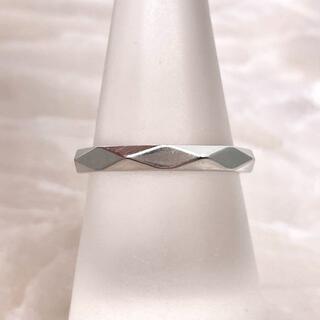 ブシュロン(BOUCHERON)の★BOUCHERON★ ファセット リング 結婚指輪 PT950(リング(指輪))
