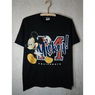 Disney - o3321 レア SHERRY'S ディズニー ビンテージ ミッキー tシャツ