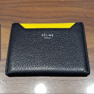 celine - CELINE 美品定価35000 バイカラーカードケース セリーヌ