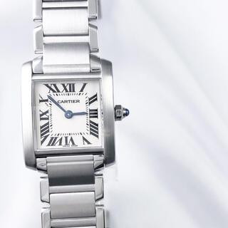 Cartier - 【仕上済】カルティエ フランセーズ SM シルバー レディース 腕時計