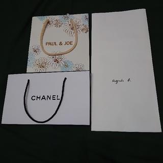 PAUL & JOE - 紙袋 (CHANEL/PAUL & JOE/agnes b.)