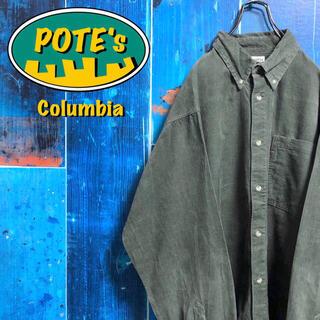 コロンビア(Columbia)の【コロンビア】ポケットロゴタグビッグコーデュロイシャツ 90s(シャツ)