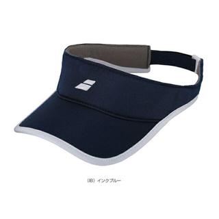 バボラ(Babolat)のバボラ レディースバイザー 紺 55cm 定価3740円(ウェア)