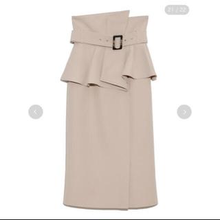 snidel - snidel コルセットベルトタイトスカート