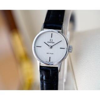 オメガ(OMEGA)の美品 オメガ デビル シルバー 手巻き レディース Omega(腕時計)