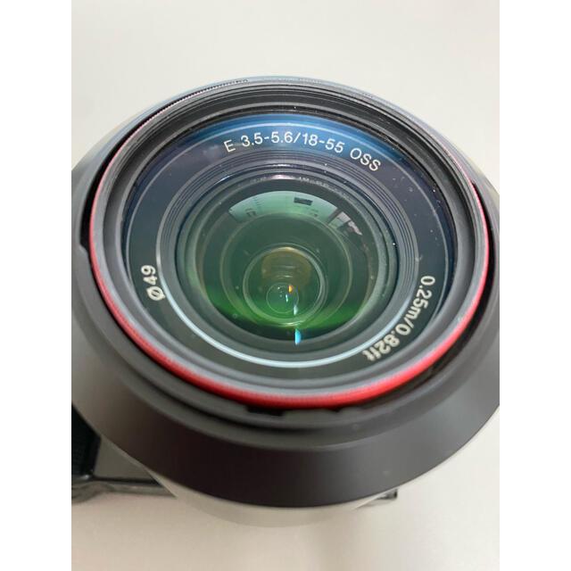 SONY(ソニー)のSony NEX-5 スマホ/家電/カメラのカメラ(ミラーレス一眼)の商品写真
