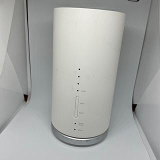 エーユー(au)のSpeed WI-FI HOME LO1s WHITE HWS32SWU(PC周辺機器)