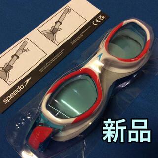 スピード(SPEEDO)の新品 ジュニア スイミング ゴーグル speedo スピード 6-14 水泳(マリン/スイミング)