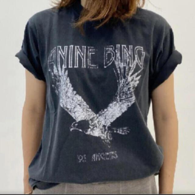 DEUXIEME CLASSE(ドゥーズィエムクラス)のDeuxieme Classe ANINE BING アニービン イーグルT レディースのトップス(Tシャツ(半袖/袖なし))の商品写真