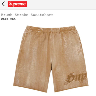 Supreme - supreme Brush Stroke Sweatshort