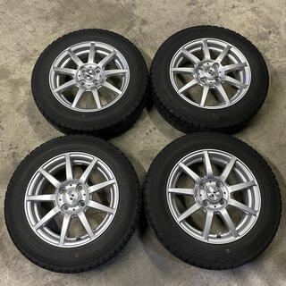 ダンロップ(DUNLOP)のスタッドレス タイヤ 165/70 R 14 冬タイヤ スノータイヤ(タイヤ)