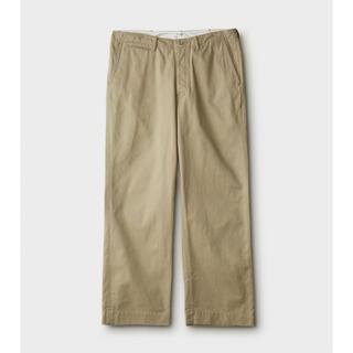PHIGVEL - PHIGVEL 21ss Officer Trousers Wide
