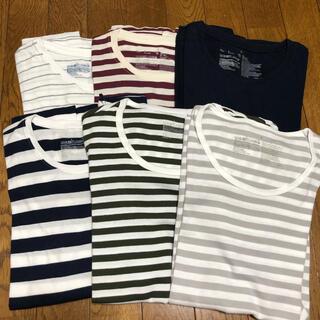 MUJI (無印良品) - 無印良品 Tシャツ 6枚セット
