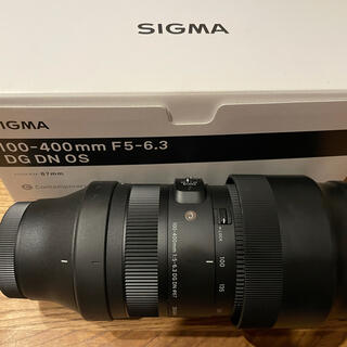 SIGMA - SIGMA 100-400mm F5-6.3 DG DN OS 望遠レンズ