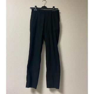 UNIQLO - UNIQLO➡︎黒パンツ(ゴム、ベルト通し付)