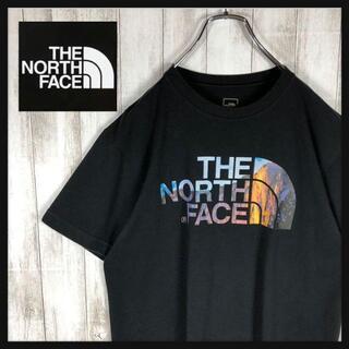 【即完売モデル】 NORTH FACE デカロゴ Tシャツ ビッグサイズ