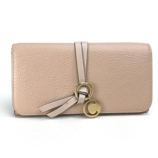 クロエ(Chloe)のクロエ 3P0715-H9Q アルファべット ロングウォレット 2つ折り長財布(財布)
