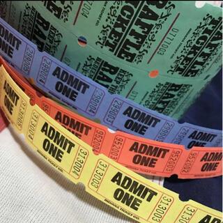 アメリカ チケット ビンテージ ADMIT ONE(印刷物)