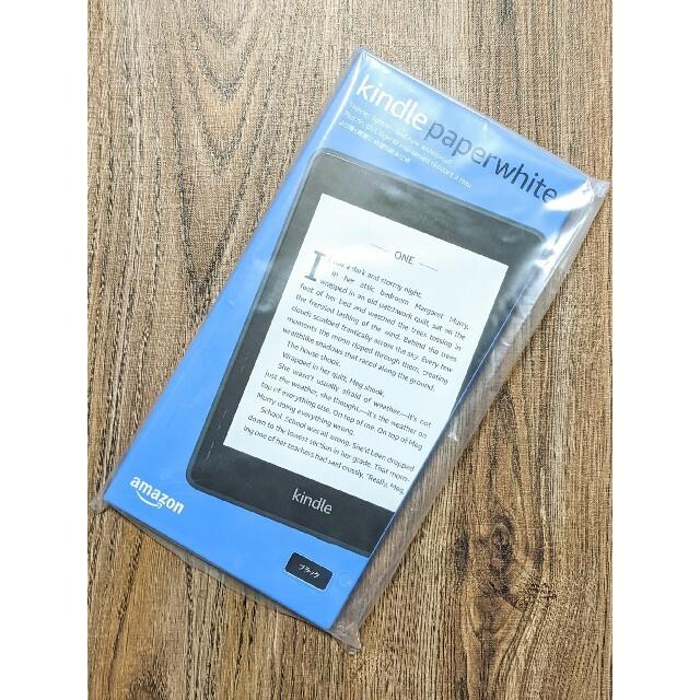 新品未開封 Kindle Paperwhite 2018 32GB ブラック スマホ/家電/カメラのPC/タブレット(電子ブックリーダー)の商品写真