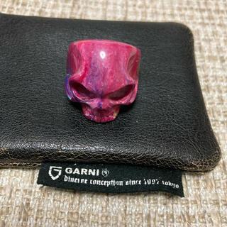 GARNI - 送料込 GARNI Skull Ring ガルニ スカル リング ケース付き