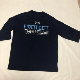 アンダーアーマー(UNDER ARMOUR)の【UNDER ARMOUR】アンダーアーマー メンズTシャツ 七分袖(Tシャツ/カットソー(七分/長袖))