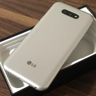 エルジーエレクトロニクス(LG Electronics)の新品同様| LG K31 32GB|SIMフリー|シルバー(スマートフォン本体)