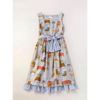 ジェーンマープル(JaneMarple)のjane Noble furniture sleeveless dress(ひざ丈ワンピース)