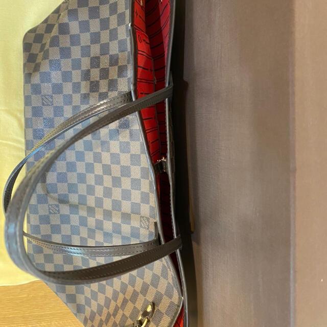 LOUIS VUITTON(ルイヴィトン)のルイヴィトン ダミエ ネバーフルGM レディースのバッグ(トートバッグ)の商品写真